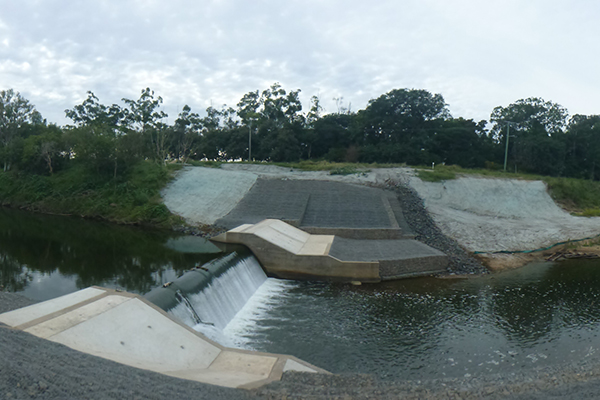 Mt Crosby & Wilson Weirs